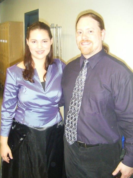 Isabel (Hillary LaBonte) and Verrada (Peter Oliver-Krueger) - Victorian Lyric Opera Company's El Cap