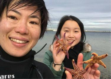 Copy of Chenxin Tu, 16, Sea Star removal