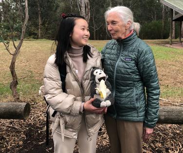 Copy of Chenxin Tu, 16, with Dr Jane Goo