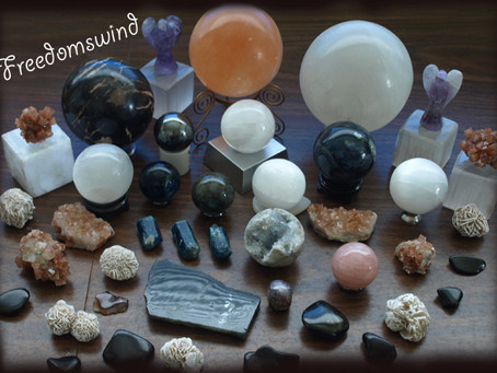 Crystals can help you enhance and tune your psychic abilities!
