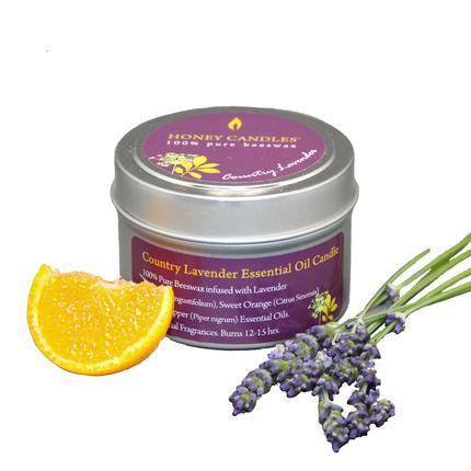 Lavender Essential Oil Tiny Tin