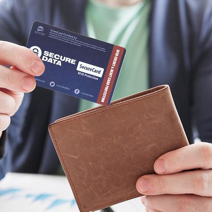 SecureCard™ Professional RFID Blocking Card