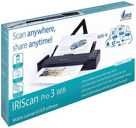 IRIS IRIScan Pro 3 WiFi 隨身多頁掃描儀