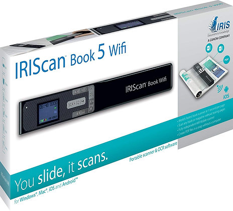 IRIS IRIScan Book 5 WiFi 隨身快速掃描儀