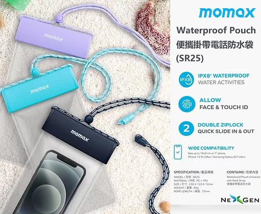 Momax Waterproof Pouch 便攜掛帶電話防水袋 (SR25)