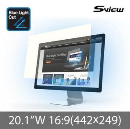 "S-View SBFAG-20.1W9 20.1""(16:9) 抗藍光濾片(442x249mm)"