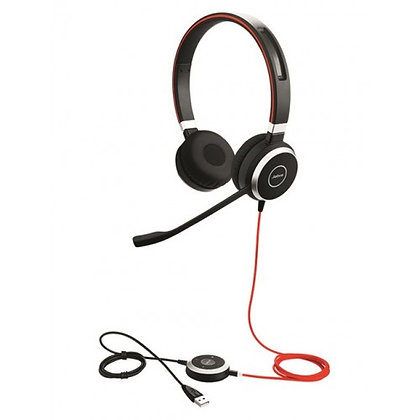 Jabra Evolve 40 MS/UC Duo 雙耳耳機