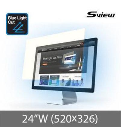 "S-View SBFAG-24W 24""(16:10) 抗藍光濾片(520x326mm)"