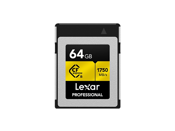 Lexar® Professional CFexpress™ Type B 記憶卡