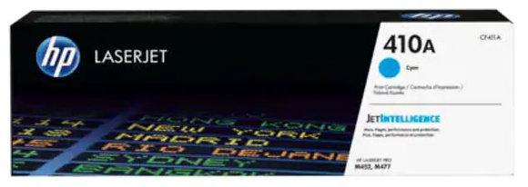 HP 410A 靛藍原廠 LaserJet 碳粉盒 (CF411A)
