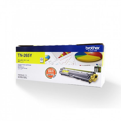 Brother TN-265Y Yellow High Yield Toner Cartridge
