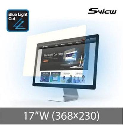 "S-View SBFAG-17W 17""(16:10) 抗藍光濾片(368x230mm)"