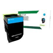 Lexmark 708C 靛青色碳粉盒