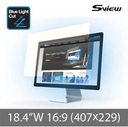 "S-View SBFAG-18.4W9 18.4""(16:9) 抗藍光濾片(407x229mm)"