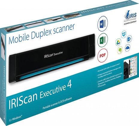 IRIS IRIScan Executive 4 便攜式雙面掃描儀