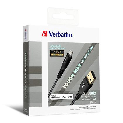 Verbatim Tough Max Lightning充電傳輸線