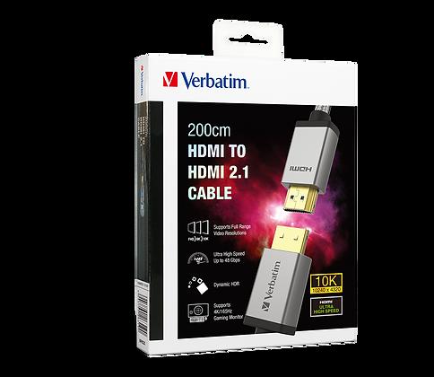Verbatim HDMI to HDMI 2.1傳輸線