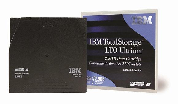 IBM Ultrium LTO 6 2.5TB/6.25TB Data Cartridge