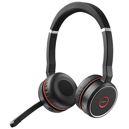 Jabra Evolve 75 MS/UC Duo 雙耳耳機