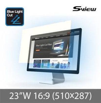 "S-View SBFAG-23W9 23""(16:9) 抗藍光濾片(510x287mm)"