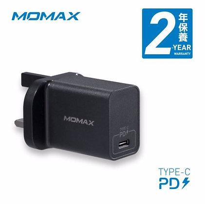 Momax One Plug USB Type-C PD 快速充電器 (UM12)