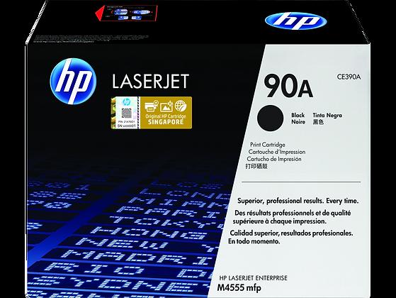 HP 90A 黑色原廠 LaserJet 碳粉盒 (CE390A)