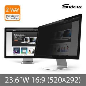 "S-View SPFAG2-23.6W9 23.6""(16:9) 抗藍光螢幕防窺片(520x292mm)"
