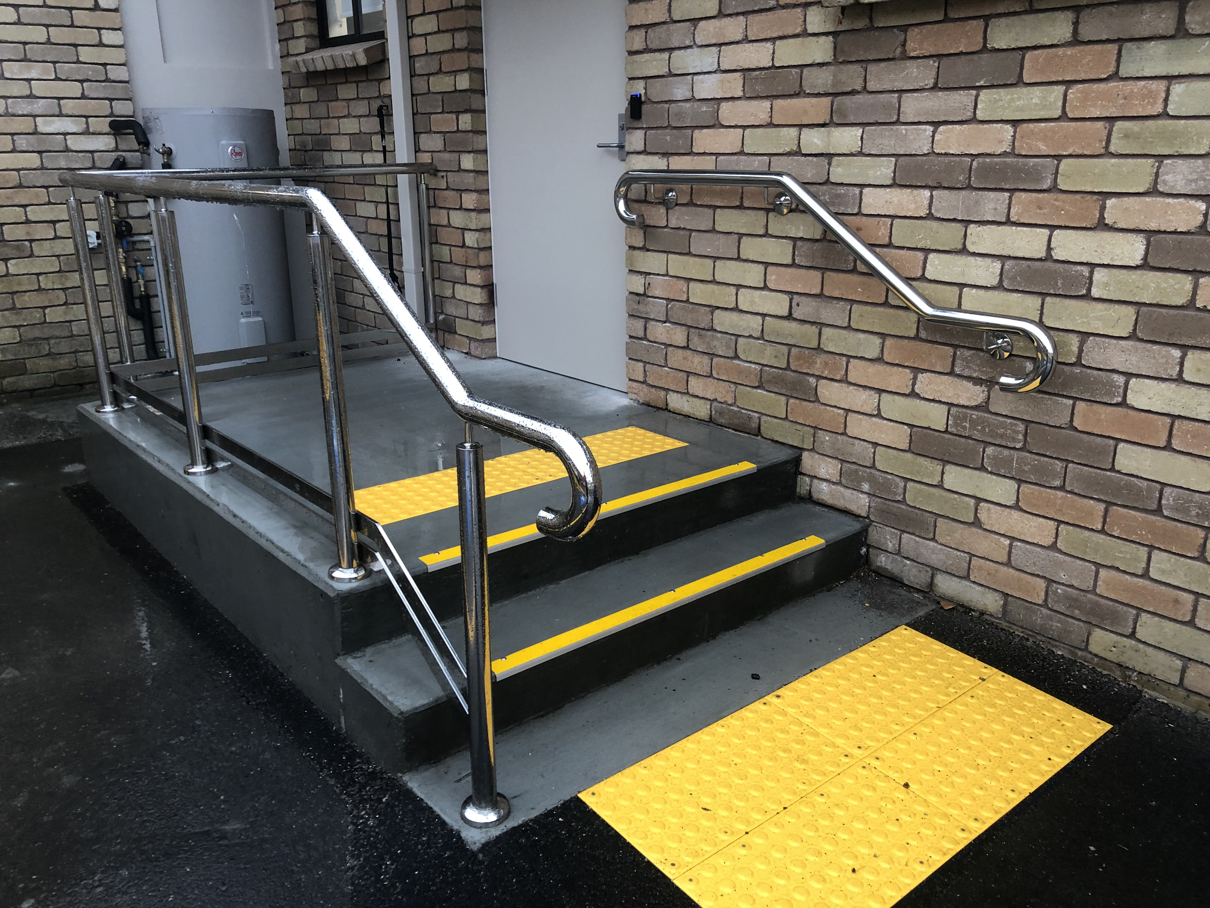 Handrails manufactured and installed