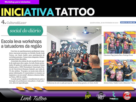 Iniciativa Tattoo vira notícia