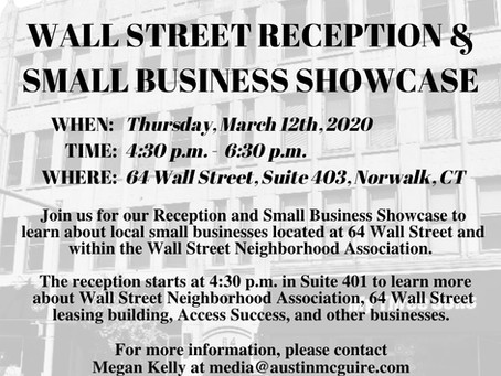 64 Wall Street Open House