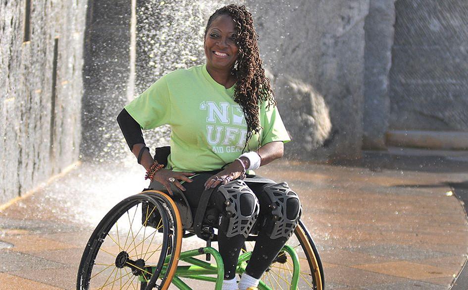 Twila Adams, NC Wheelchair Athlete