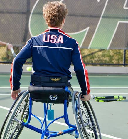 Rita Stroud, Mother of World Champion Wheelchair Player, Conner Stroud