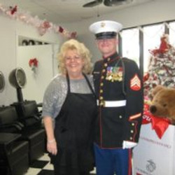 Cathy and Toys For Tots