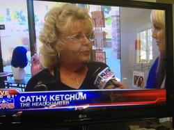 Cathy on KUSI News