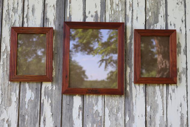 Barnwood Picture Frame Set