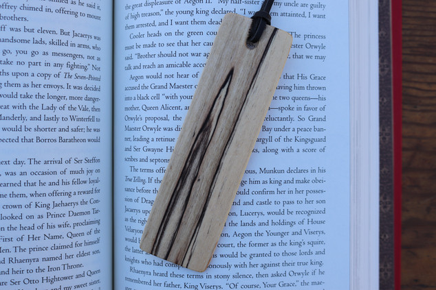 Spalted Maple Bookmark