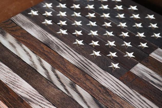 American Flag Wall Piece