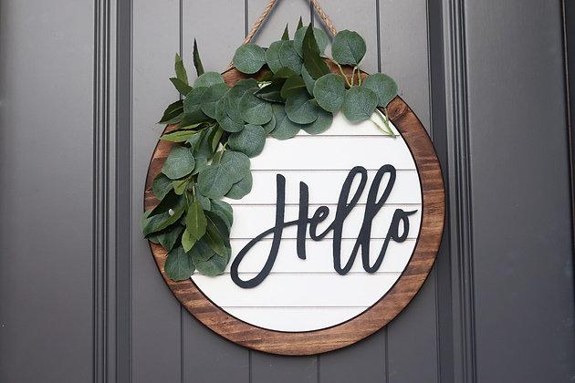 Front Door Welcome Sign