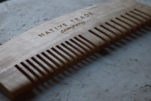 Native Trade Wooden Comb