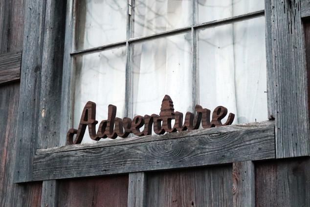 Adventure Sign