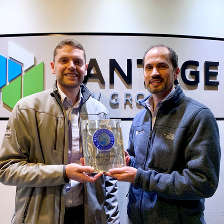 Lennar honors Vantage Law Group with President's Circle Award