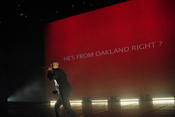 He's from Oakland, right?