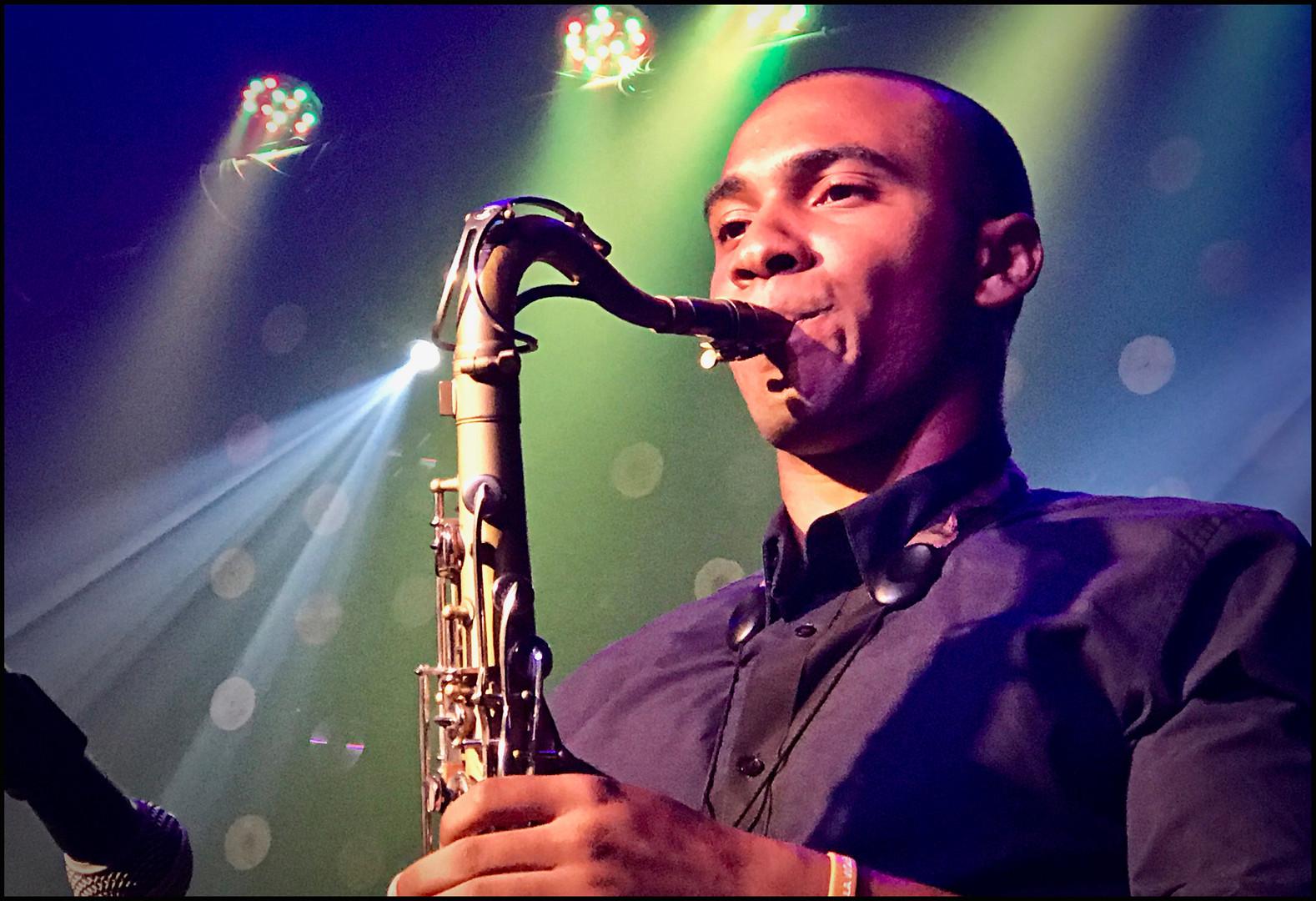 Cuban Sax Man