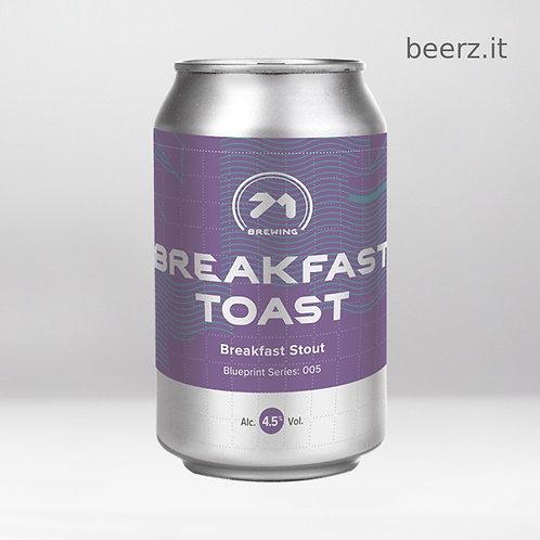 71 Brewing - Breakfast Toast - 33 cl - 4.5%