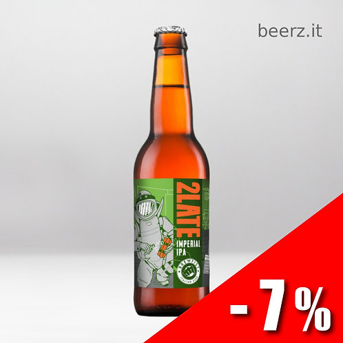 Brewfist - 2Late - 33 cl - 9.5%