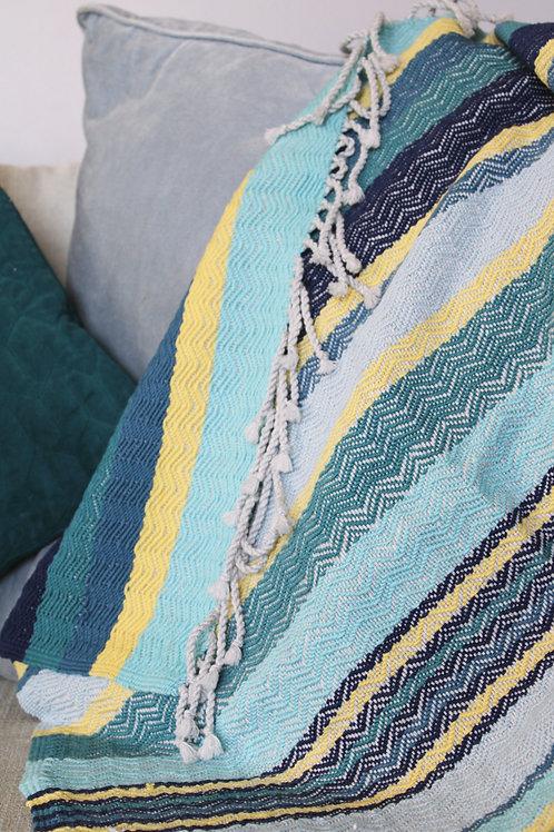 Coast - Chevron Baby Blanket