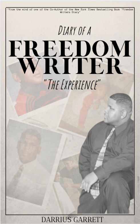 Diary of A Freedom Writer Front Cover.pn