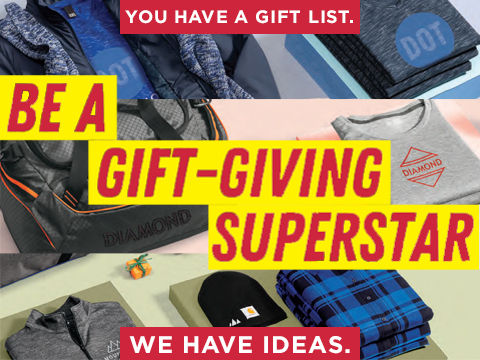 Personalized apparel for gift-giving