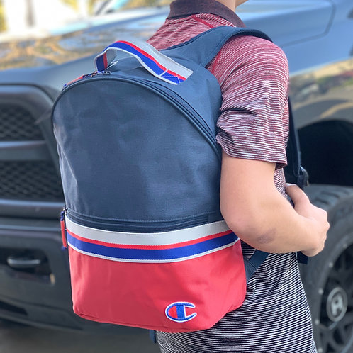 Champion - 23L Striped Backpack