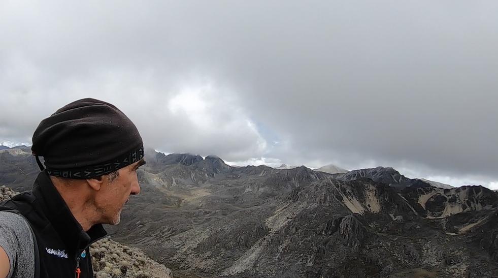 Marcus y parte de la Sierra de La Culata